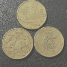 1997 1998 1999 Australian One Dollar $1 Coin