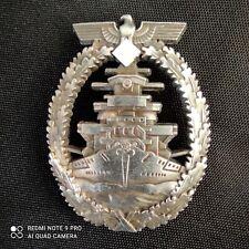 Insigne de combat de la flotte allemande insigne militaire allemand WW2