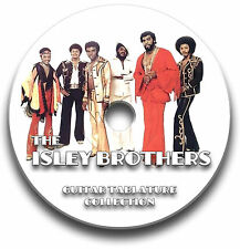 THE ISLEY BROTHERS ROCK GUITAR & BASS TAB TABLATURE SONG BOOK SOFTWARE CD