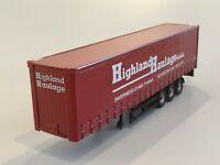 CORGI HAULIERS HIGHLAND HAULAGE CURTAINSIDE TRAILER MODEL ONLY CC14008 1:50