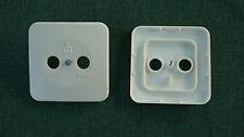 20x Zentralplatte für TV / Radio Antennensteckdose DDR RFT Abdeckplatte Antenne