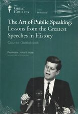 The Art of Public Speaking: Lessons from the Greatest Speeches in History & DVD