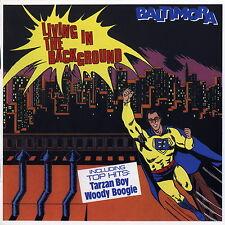 CD Baltimora - Living In The Background 1985 +  6 Bonus Tracks Tarzan Boy Italo