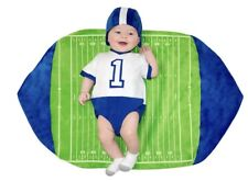 5132 Baby Football Player Costume Blanket Swaddle Wings Infant Newborn 0-3m BYU