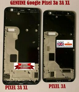 GENUINE GOOGLE PIXEL 3A 3A XL FRONT LCD FRAME HOUSING MIDDLE BEZEL PLATE FRAME