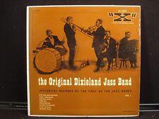 "The Original Dixieland Jass Band Vol. 1 ""X"" LX-3007 Vinyl, LP, 10"", Compilation"