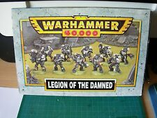 40K Space Marine Legion of the Damned Squad x 9 Metal Box Set Rare OOP
