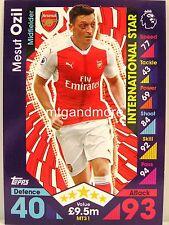 Match Attax 2016/17 Premier League - #MT31 Mesut Ozil - International Star