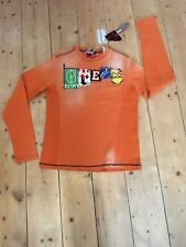 Distressed Energie Boys top orange age 14+ New Casual