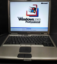 Dell 1200mhz Windows - 95/98/NT/2000/Dos Ultra compatibility laptop computer.