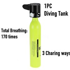 Portable Mini Scuba Diving Air Cylinder Bottle Oxygen Spare Tank Breathing