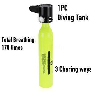 Portable Mini Scuba Diving Air Cylinder Bottle Oxygen Spare Tank    !N
