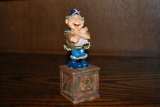 Efteling Holland Gnome Letter X Statue The Laaf Collection 1998 Ltd Ed