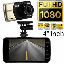 Car DVR Dash Recorder Video Camera 4'' LCD HD 1080P Cam Sensor Night Vision US