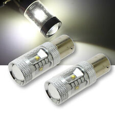 New 2x Error Free White P21W Ba15s 1156 382 30W Cree LED Bulbs DRL Reverse MA261