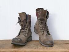 * FLY LONDON * robuste Stiefel Boots Leder Stulpenstiefel - Gr. 40