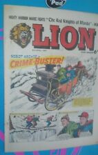 LION COMIC 3RD APRIL 1965 1960S A CLASSIC GROUNDBREAKING UK COMIC