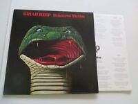 URIAH HEEP Innocent Victim GERMAN BRONZE Vinyl: MINT / Cover:mint - INSERT