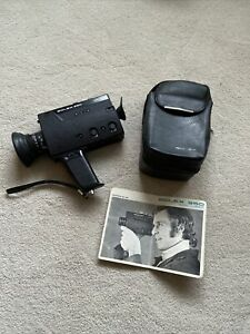 Vintage Bolex 350 Macro Compact Super 8 Cine Camera 1970s retroUntested