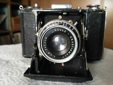Zeiss Ikon 520 / 16 Klappkamera Kamera für 120 Rollenfilm Novar 1:4,5  f=7,5 cm