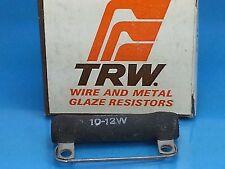TRW IRC 200 OHM 10-12 WATT NOS RESISTOR WIREWOUND METAL GLAZE CATHODE GUITAR AMP