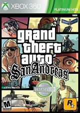 Grand Theft Auto: San Andreas [Xbox 360, NTSC, Platinum Hits, Action Driving]