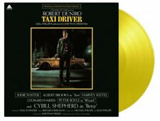 TAXI DRIVER ORIGINAL SOUNDTRACK LTD ED NUMBERED YELLOW VINYL MOV RELEASE NEW