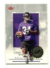 2001 Fleer Authority #149 Chris Barnes Baltimore Ravens