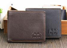 Batman Leather Bifold Wallet Credit/ID Card Holder Slim Coin Men Birthday Gift