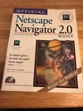 Netscape Navigator 2.0 - Book by Phil James