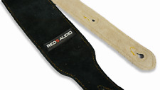 100% Genuine Leather Guitar Strap - comfy, sweat resistant.