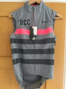 RAPHA RCC PRO TEAM LIGHTWEIGHT RAIN GILET MEDIUM - NEW