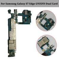 Motherboard Main Board For Samsung Galaxy S7 Edge SM-G935FD 32GB Unlock Dual SIM