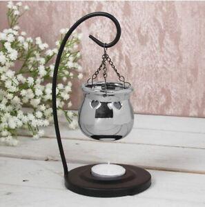 Desire Aroma Hanging Silver Oil Burner Wax Warmer Melt Burner Perfume Gift