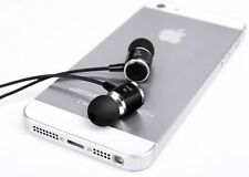 Noise Cancelling High Quality Ear Phones 3.5mm Jack Loud Bass New Design Black