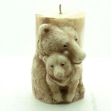 3D Bear Candle Mould Silicone SoapMolds Craft Decorating Clay DIY Cake Chocolate