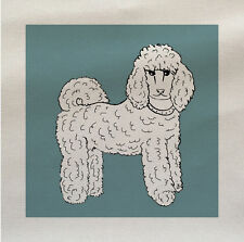 Dog Poodle Fabric Panel Make A Cushion Upholstery Craft