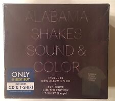 Alabama Shakes 'Sound & Color' Exclusive Limited Edition Large Tee & CD - NEW