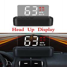 2020 New OBD2 HUD Car Head Up Display Speedometer Overspeed Alarm Security Alarm