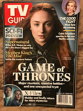 TV GUIDE-7/2017-GAME OF THRONES-SUPERNATURAL-THE X-FILES-SCI-FI PREVIEW-NO ML