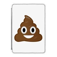 Poo Poop Emoji Case Cover for iPad Mini 1 2 3 - Funny Smiley Face