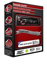 Suzuki Swift Autoradio, Pioneer CD MP3 Lecteur Radio avec avant USB Auxiliaire