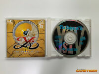 YS IV 4 PC THE DAWN OF YS PC ENGINE SUPER CD-ROM JAPAN