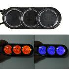 12V LCD Digital Termómetro Reloj Calendario Temperatura Dual Multifunción Coche