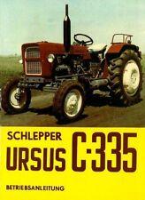 Bedienung Schlepper Traktor Ursus C 335 Polen
