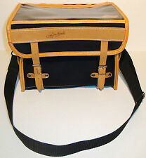 *NEW* GILLES BERTHOUD HANDLEBAR BAG GB805 BLACK MADE IN FRANCE RENE HERSE SINGER