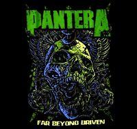 PANTERA cd cvr FAR BEYOND DRIVEN Official SHIRT MED new