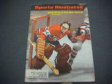 Sports Illustrated  Magazine,February 1972,Montreal's  Golden Goalie,Dryden