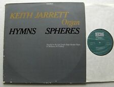 Keith JARRETT Hymns Spheres GERMANY 2LP ECM 1086/87 - VG+/EX+
