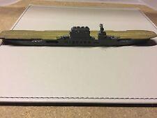 Rare Tremo Treforest American Carrier USS LEXINGTON waterline model